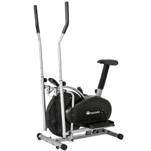 cross trainer 2 in 1 per home fitness con display LCD