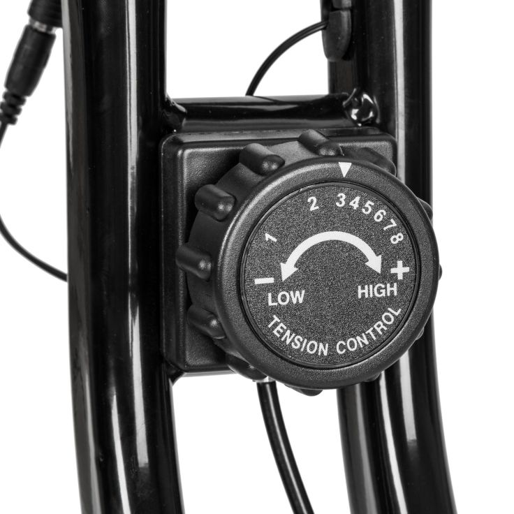 cyclette da camera pieghevole con display